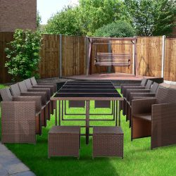 15x Outdoor Dining Set