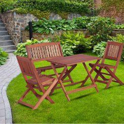 4x Outdoor Dining Set